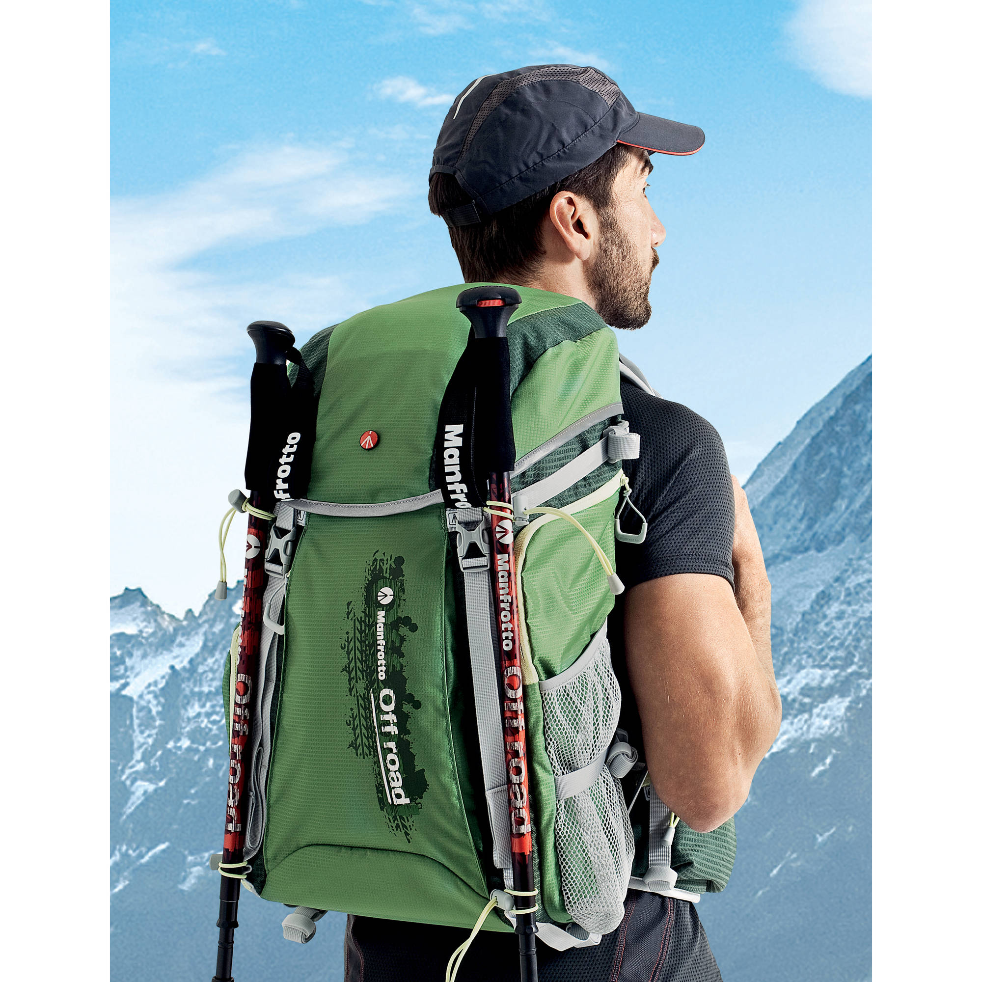 Manfrotto Off road Hiker Backpack (30L, Green)