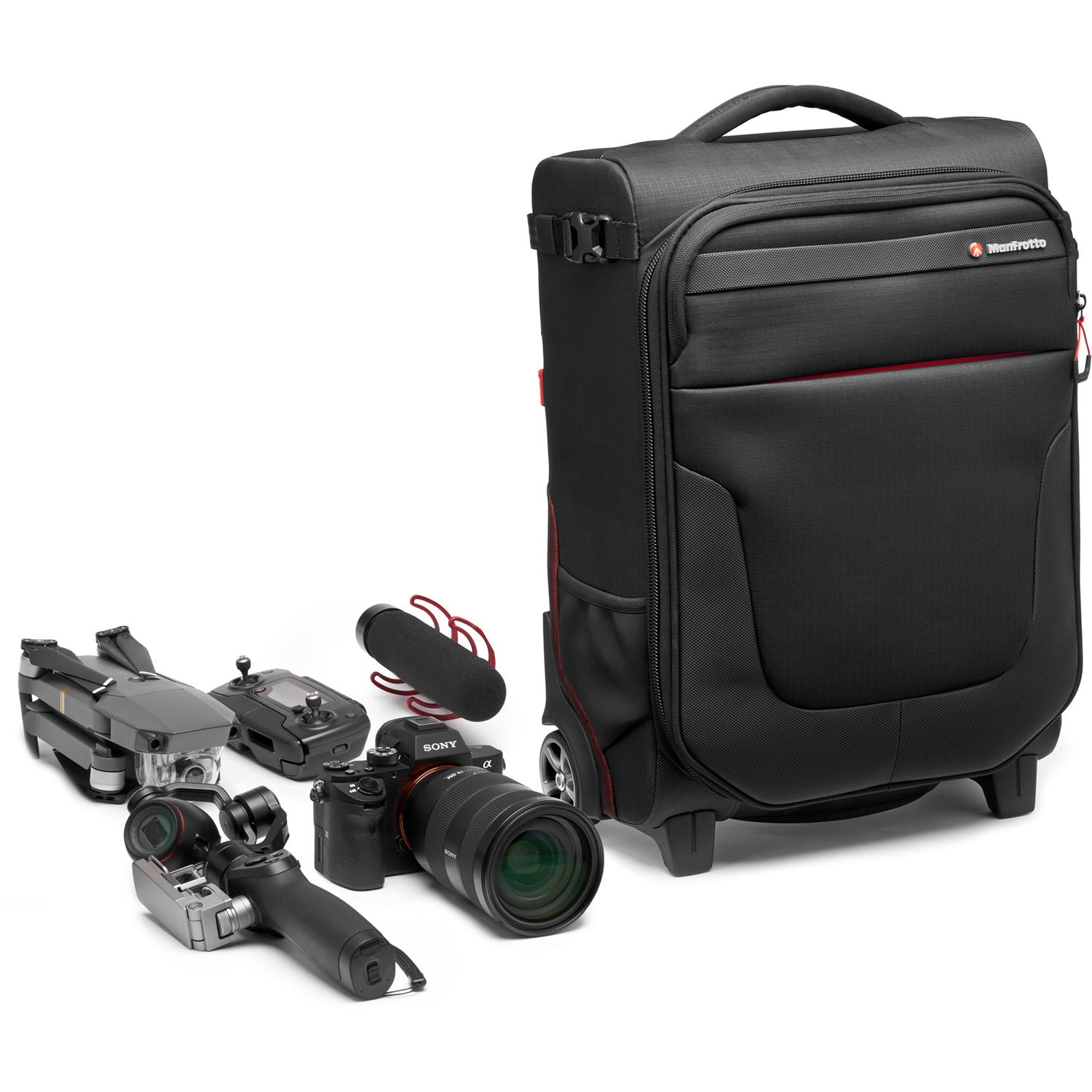Manfrotto Pro Light Reloader Air-50 Carry-On Camera Roller Bag (Black)