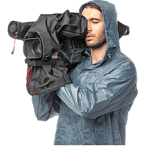 Manfrotto RC-10 Pro Light Video Camera Raincover for Medium-Size Camcorder / DSLR Rig (Black)