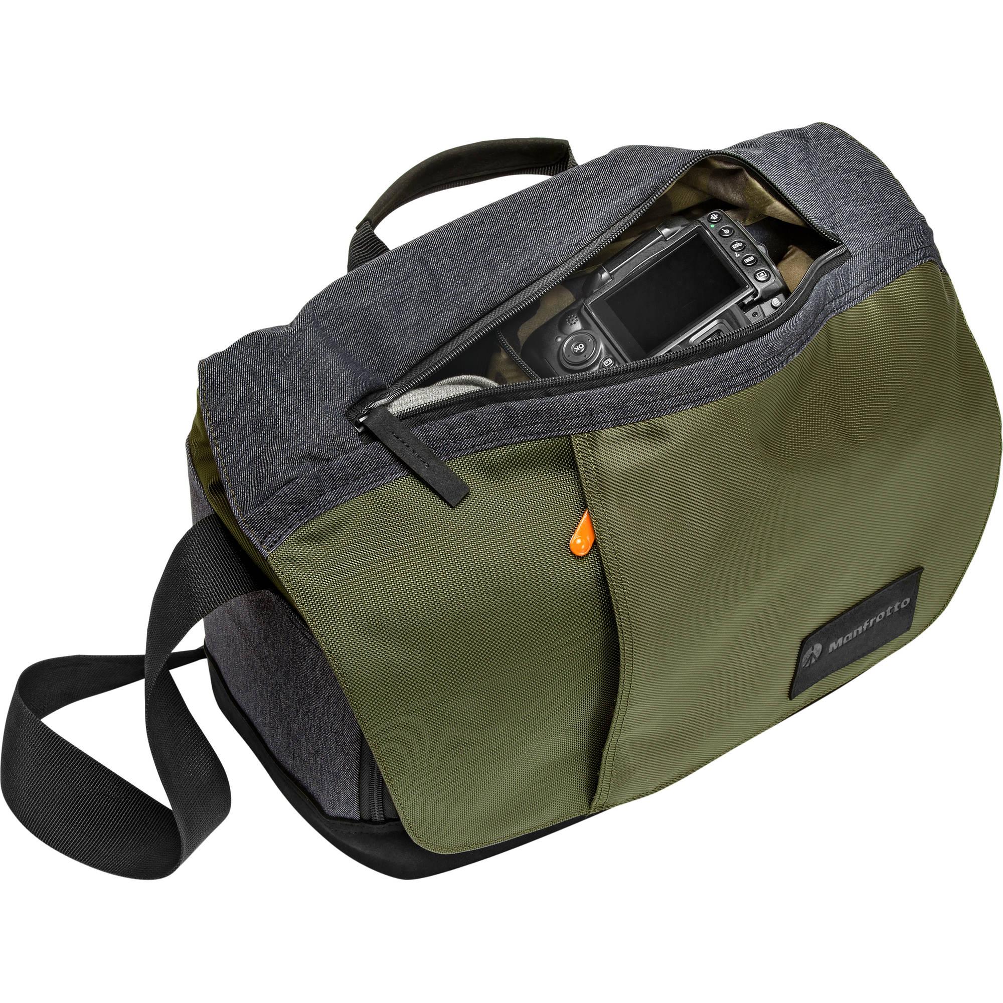 Manfrotto Street Camera Messenger I for DSLR/CSC (Green and Gray)