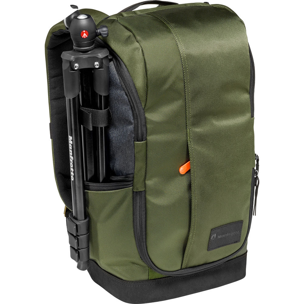 Manfrotto Street Camera and Laptop Backpack for CSC (Green and Gray)