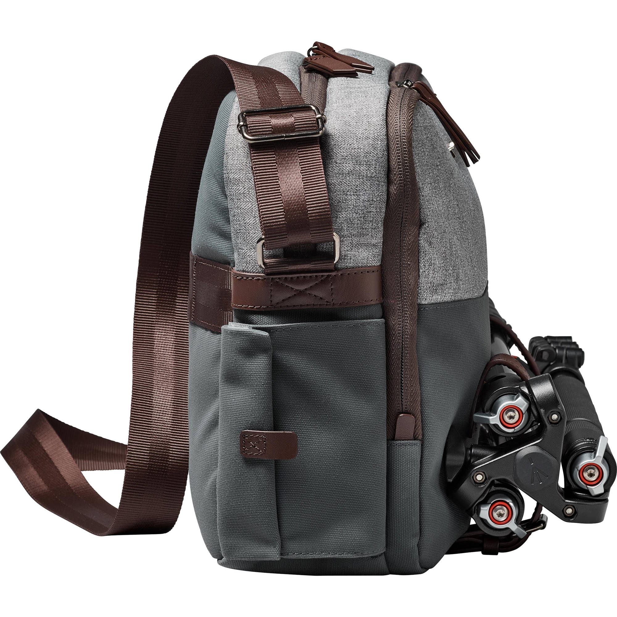 Manfrotto Windsor Camera Reporter Bag for DSLR (Gray)