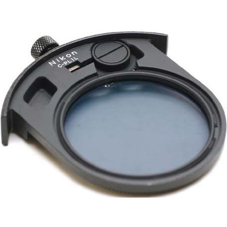 Nikon 52mm Circular Polarizer (C-PL1L) Glass Filter - Drop-In