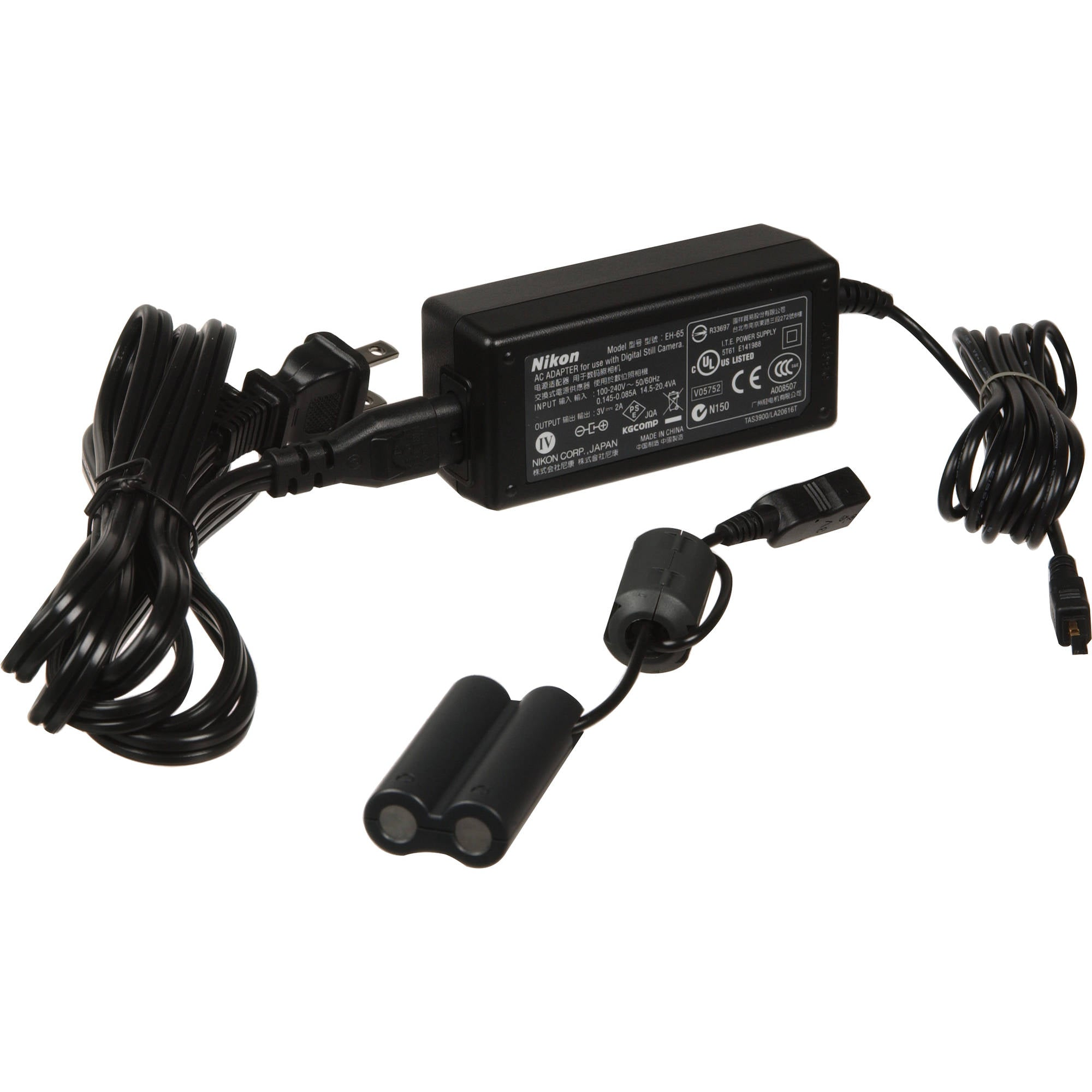 Nikon EH-65A AC Adapter for the Nikon Coolpix L Series Digital Cameras