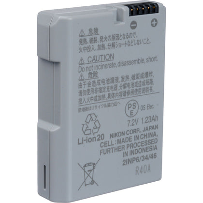 Nikon EN-EL14a Rechargeable Lithium-Ion Battery (7.2V, 1230mAh)