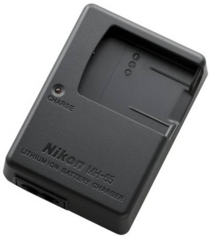 Nikon MH-65 Battery Charger for Nikon EN-EL12 battery in a Nikon CoolPix S620/S630/S610c/S1000pj camera