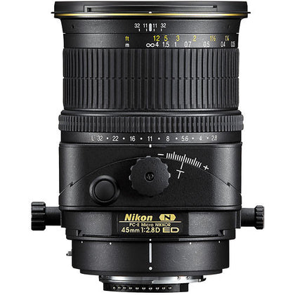 Nikon PC-E Micro-NIKKOR 45mm f/2.8D ED Tilt-Shift Lens