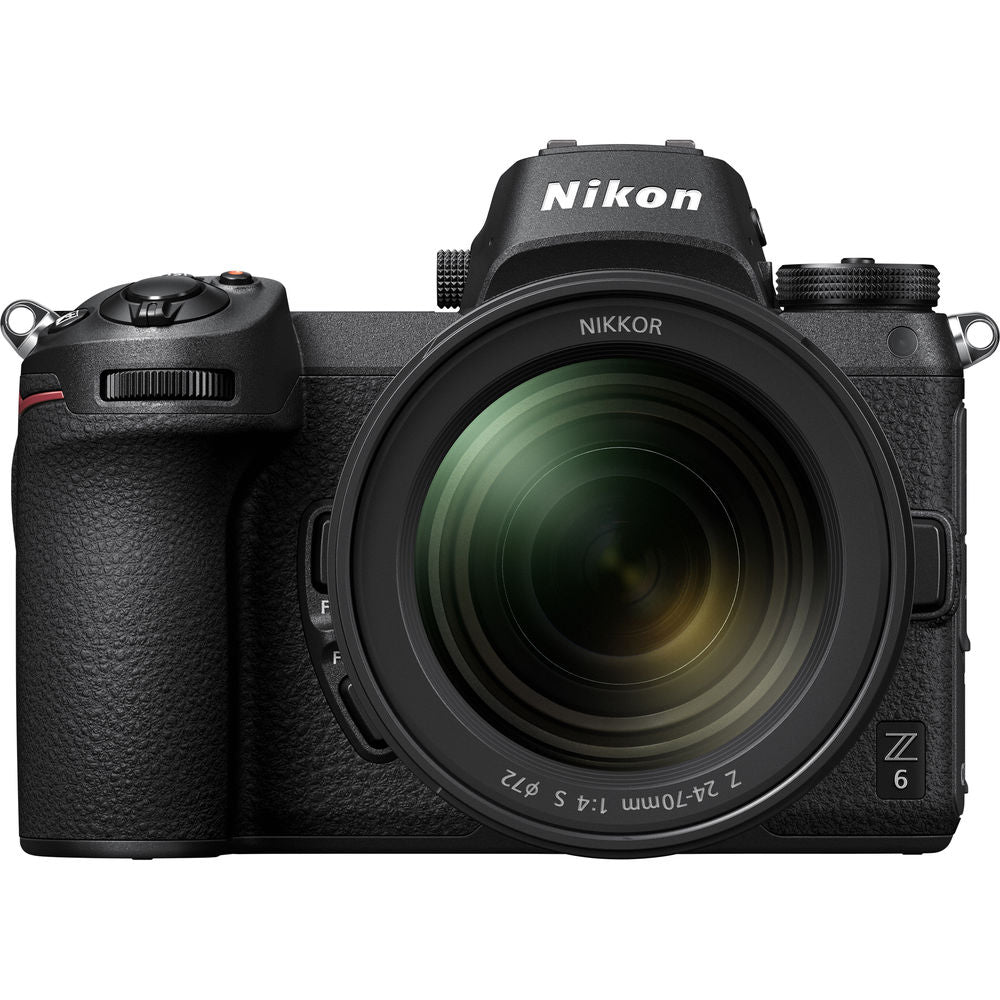 Nikon Z 6 Mirrorless Digital Camera with 24-70mm Lens and Accessories Kit