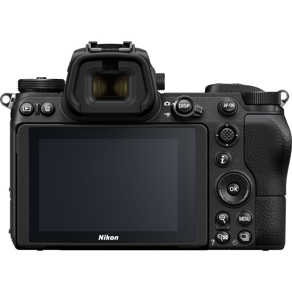 Nikon Z 6 Mirrorless Digital Camera with 24-70mm Lens, FTZ Mount Adapter, and Bag Kit