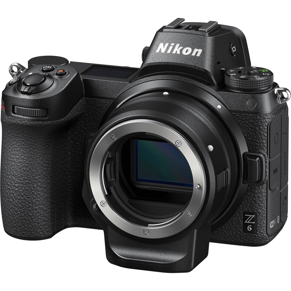 Nikon Z 6 Mirrorless Digital Camera with FTZ Mount Adapter Kit