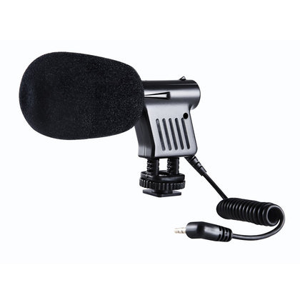 Boya Byvm01 Directional Video Condenser Microphone for Canon Nikon DSLR Camcorder