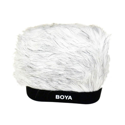 BOYA BY-P30 PROFESSIONAL FLUFFY WINDSHIELD FOR PORTABLE RECORDER FOR ZOOM H4N, H5, H6 TASCAM DR-100 MKII SONY PCM-D50 AND OTHERS