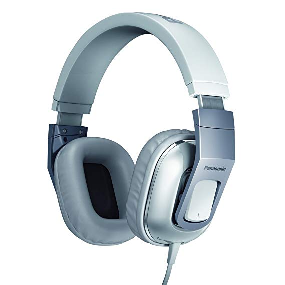 Panasonic HT480 On-Ear Stereo Headphone Headset With Mic for iPod / iPhone / iPad - RP-HT480CPPW White