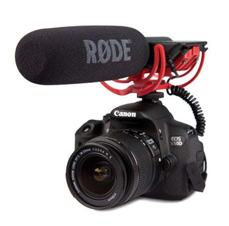 Rode Condenser Shotgun Video Mic with Rycote and Rode DeadCat Wind Sheild