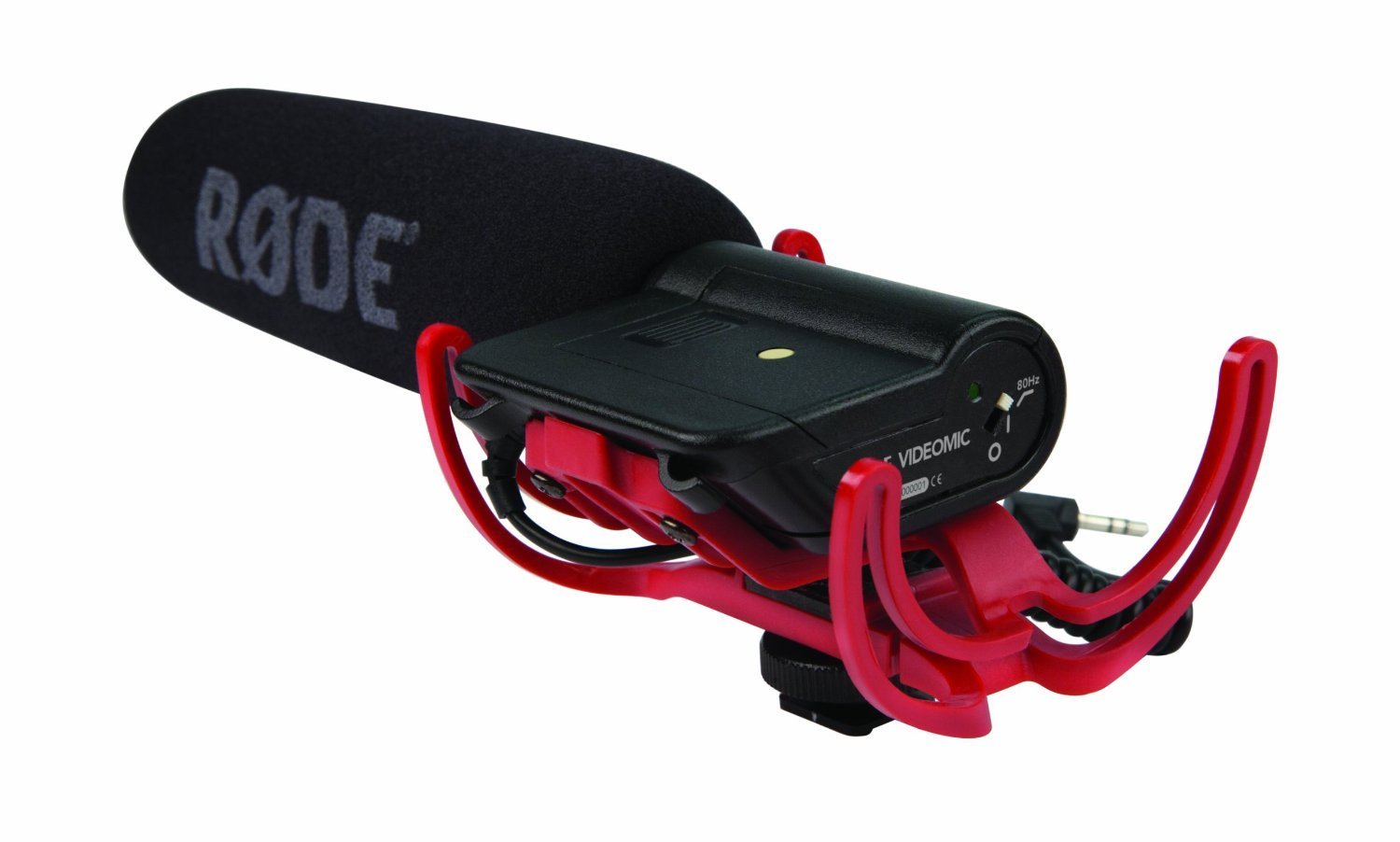 Rode Rycote VideoMic Microphone, camera and VC1 Extension Cable