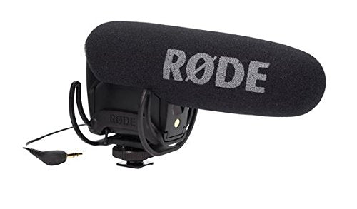 Rode VMPR VideoMic Pro R with Rycote Lyre Shockmount, Black
