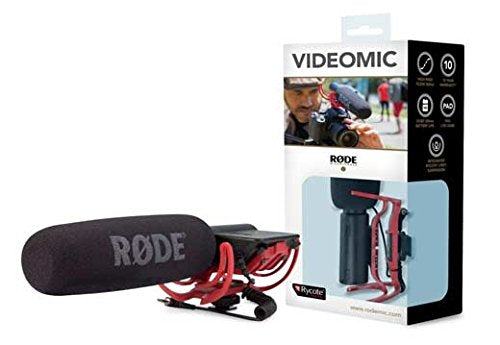 Rode VideoMic Directional Video Condenser Microphone with Mount