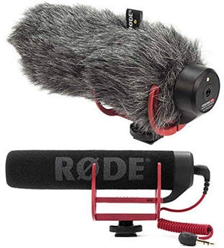Rode VideoMic GO OnCamera Shotgun Microphone and DeadCat VMP Wind Cover Kit