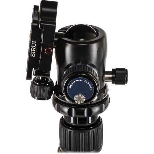 Sirui W1204K10 Carbon Fiber Tripod with K10X River Runner Ball Head Kit