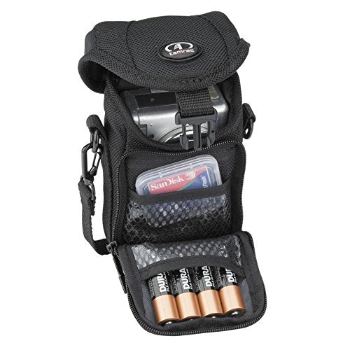 "Tamrac 5683 Digital Zoom 3 Holster Bag - for Digital SLR with a Lens up to 3.5"" Attached (Black)"