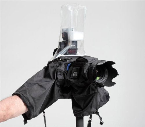 Think Tank Hydrophobia? Flash 70200, Rain Cover for Pro Size DSLR with Flash and 70200 2.8