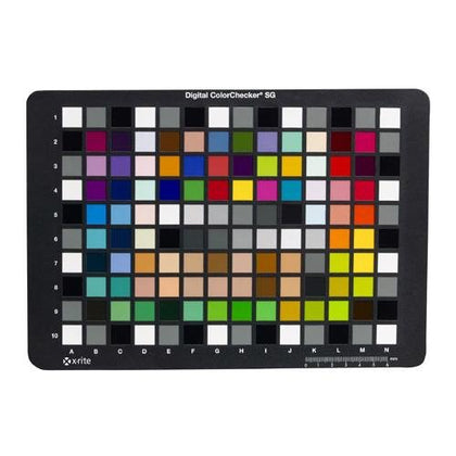 X-Rite Digital ColorChecker SG Card