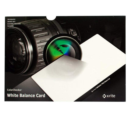 X-Rite ColorChecker Custom White Balance Card