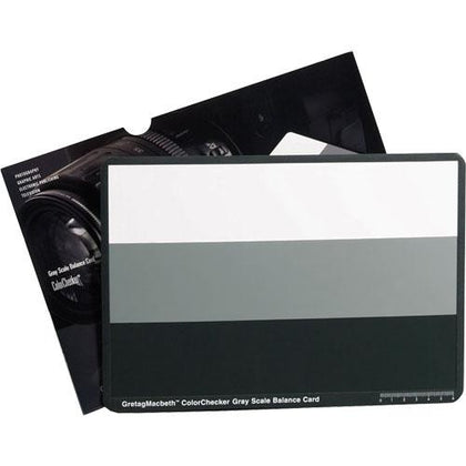 X-Rite ColorChecker Gray Scale Card
