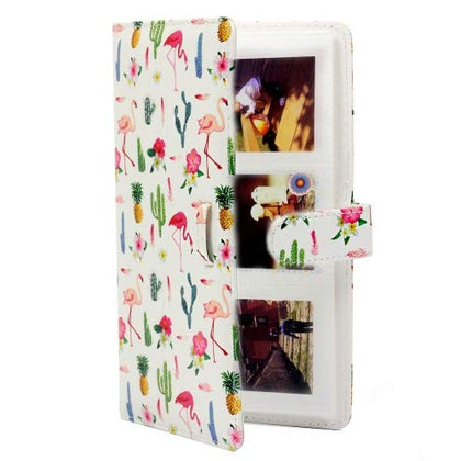 ZENKO 20-Sheets Album For Mini Film (3 inch) (Flamingo Catus)