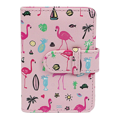 ZENKO 20-Sheets Album For Mini Film (3 inch) (Flamingo Watermelon)