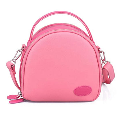 ZENKO MINI 7 8 25 50 90 INSTAX CAMERA SHELL BAG (PINK)