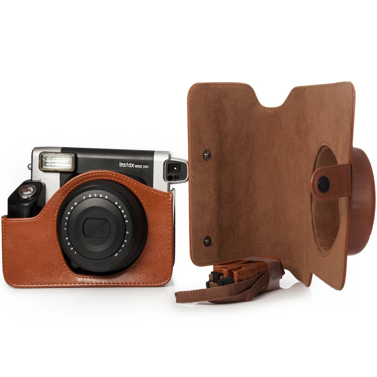 ZENKO WIDE 300 INSTAX CAMERA COVER POUCH BAG ( BROWN)