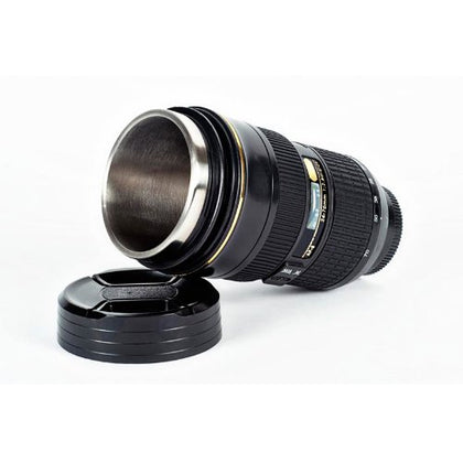 Zoom Version Lens THERMOS Coffee Cup /Camera Lens Mug /Lens Coffee Cups INCLUDES FREE CARRY CASE AFS NIKKOR 2470mm f/2.8G ED