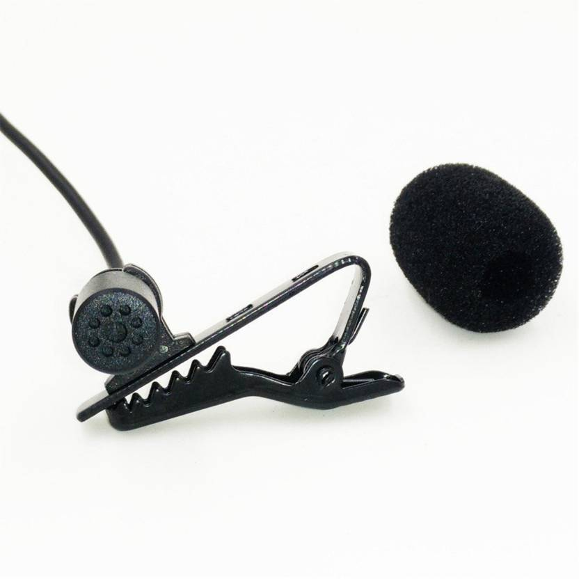 BOYA BY-M4C Phantom Power Clip-On Cardioid XLR Lavalier Microphone for Canon Sony Panasonic Camcorders ZOOM H4n H5 H6 TASCAM Audio Recorders