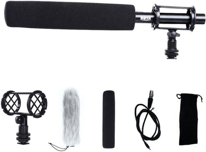 Boya BY-PVM1000L Pro Shotgun Video DSLR Camera Microphone for Canon Nikon Sony DV,for Camcorders