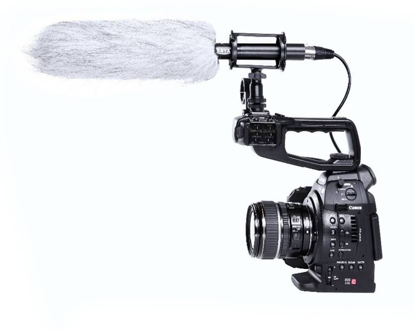 Boya BY-PVM1000L Pro Shotgun Video DSLR Camera Microphone for Canon Nikon Sony DV for Camcorders