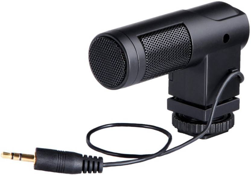 Boya BY-V01 Mini Stereo X/Y Condenser Microphone Mic for Canon, Nikon, Sony and Pentax DSLR Camera