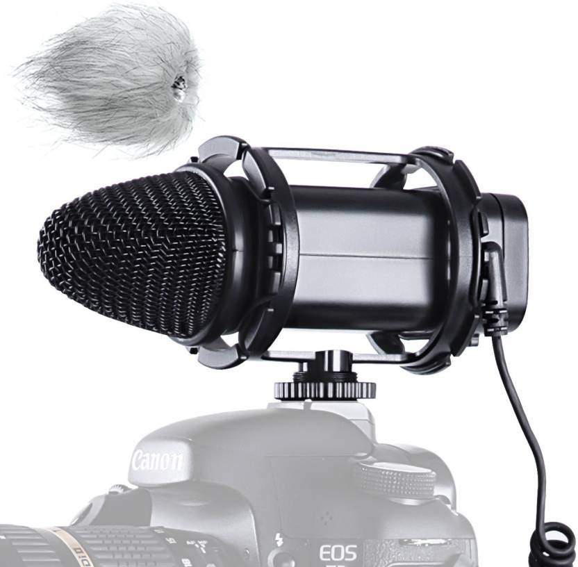 BOYA BY-V02 X/Y Stereo Condensor for Compact Stereo Video Microphone for Canon Nikon DSLR Cameras Camcorders Microphone