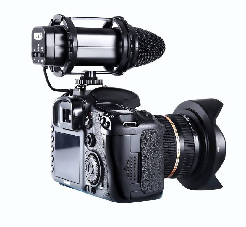 BOYA BY-V02 X/Y Stereo Condensor for Compact Stereo Video Microphone for Canon Nikon DSLR Cameras Camcorders Microphone ()