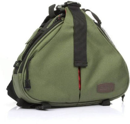 Caden K1 DSLR Camera Shoulder Sling Bag for Nikon, Canon, Sony (Army Green)