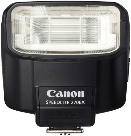 Canon 270EX II Speedlite Flash for Canon DSLR Cameras (Black)