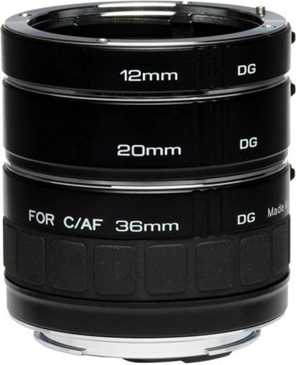 Kenko DG Auto Extension Tube Set for the Canon Mount (12, 20 & 36mm Tubes)