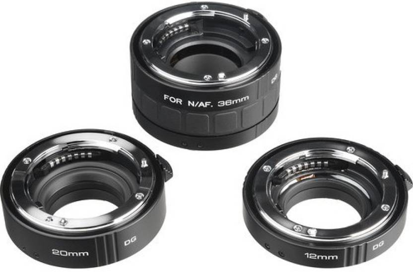 Kenko DG Auto Extension Tube Set for the Nikon AF Mount (12, 20 & 36mm Tubes)