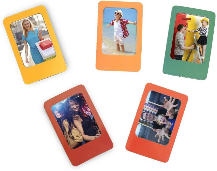 Caiul Personalised 3-inch Fridge Magnet for Fuji Mini Film