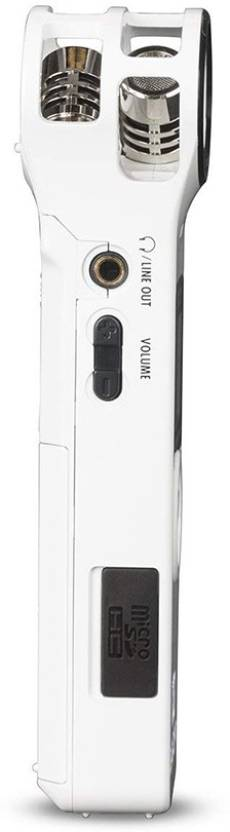 Zoom H1 Ultra-Portable Digital Audio Recorder (White)