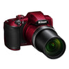 Nikon Coolpix B600 Red Compact Digital Camera