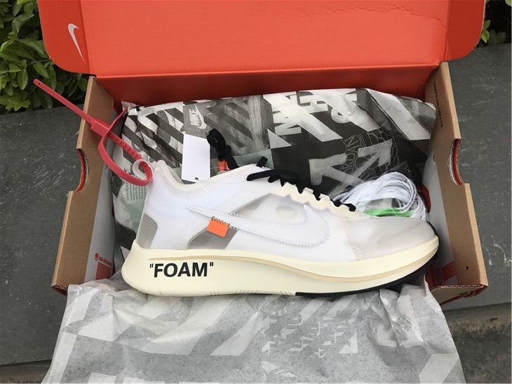 NIKE OFF WHITE FOAM