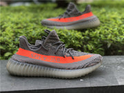 yeezy v2 grey orange