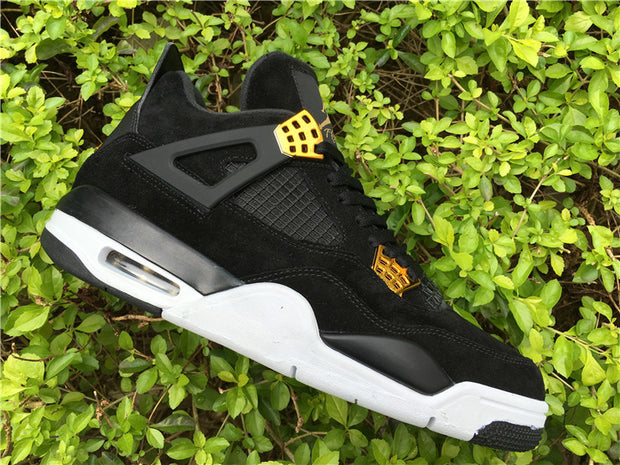 "Air Jordan 4 ""Black Suede"""