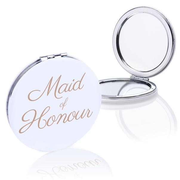 Maid of Honour - Compact Mirror